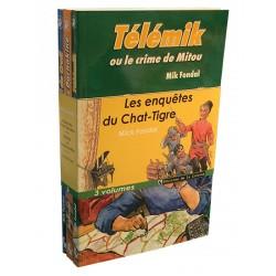 """Lot """"enquête du Chat Tigre"""" - 3 livres"""