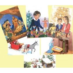 Lot 12 cartes de Noël