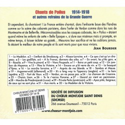 CD Chants de Poilus 1914-1918