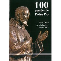 100 pensées de Padre Pio