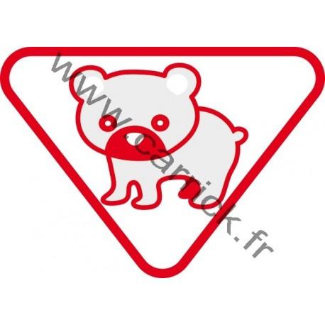 Badge lvtx Ami des animaux - ENF
