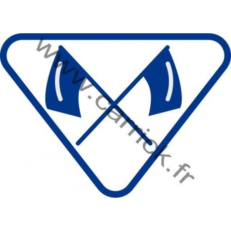 Badge lvtx Signaleur - ENF