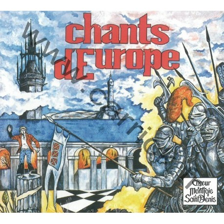CD Chants d'Europe 1