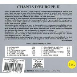 CD Chants d'Europe 2