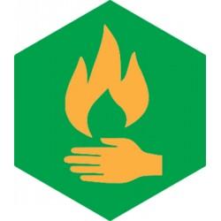 Badge éclaireur GSE - Maitrise du Feu