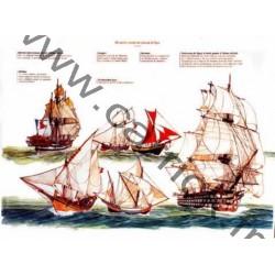 Poster Du navire corsaire...