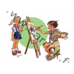 CP -  L'artiste - Joubert