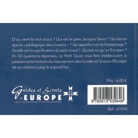Guides et Scouts d'Europe - Le petit quizz