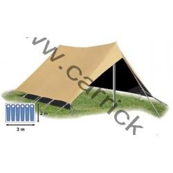Double-toit - tente Patrouille - 6 places