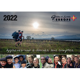 Calendrier scout 2022