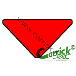 Triangle de sizaine rouge -...