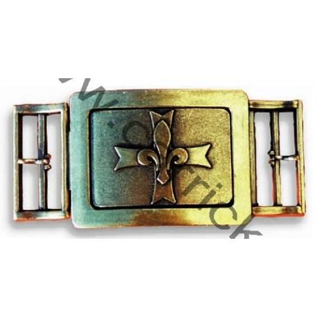 Boucle ceinturon GSE bronze