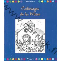 Coloriage de la Messe
