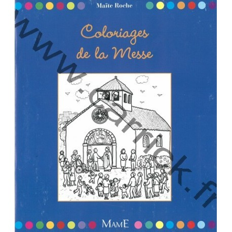 Coloriage de la Messe
