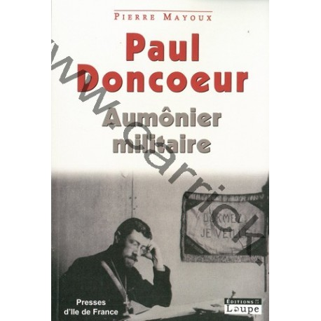 Paul Doncoeur – Aumônier militaire