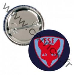 Badge métallique - loup de promesse