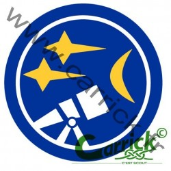 Badge scout - astronome
