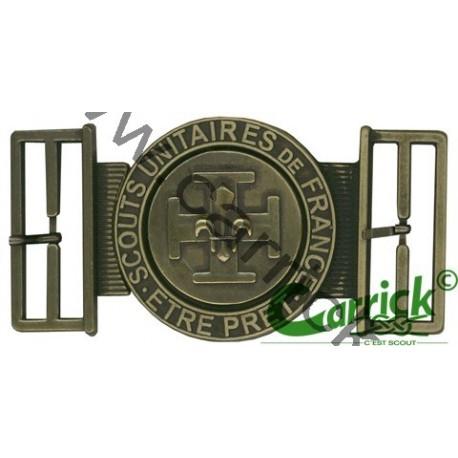 Boucle ceinturon croix potencée bronze - CARRICK France 9ded10f5bfc
