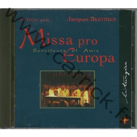Missa pro Europa - CD