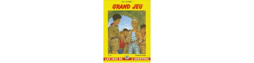 "Collection ""JEUX DE L'AVENTURE"""