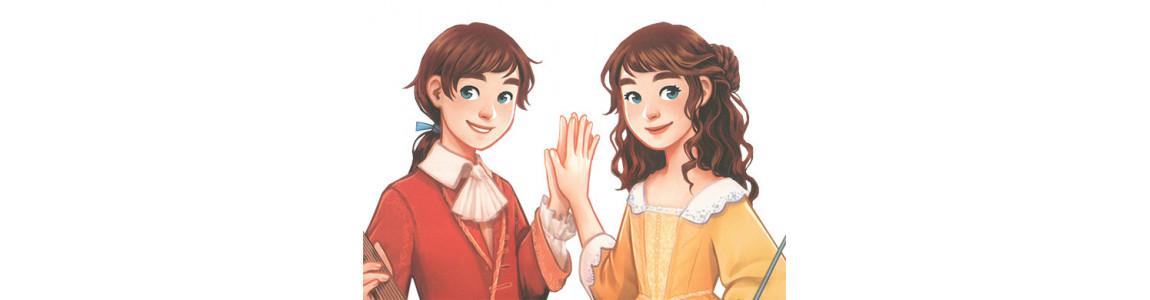 """Série """"Des jumeaux à Versailles"""""""