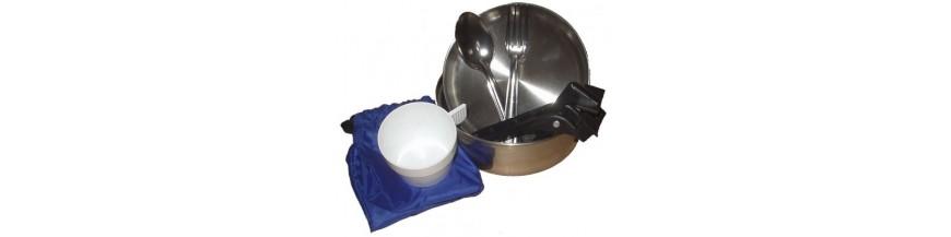 Vaisselle de camp